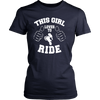 Image of LOVES TO RIDE LADIES' T-SHIRT