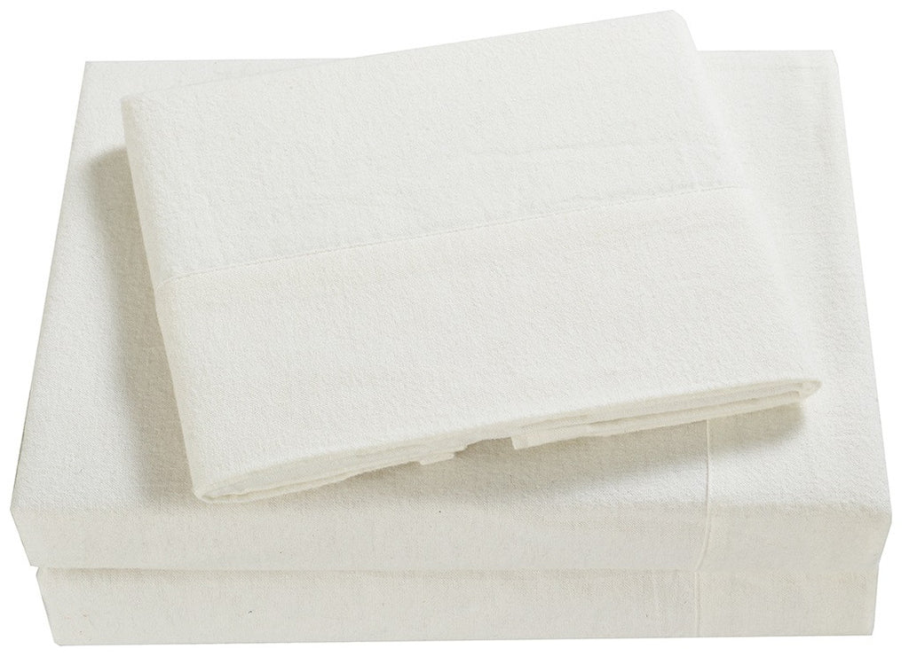 100% Cotton Flannel Sheets Set