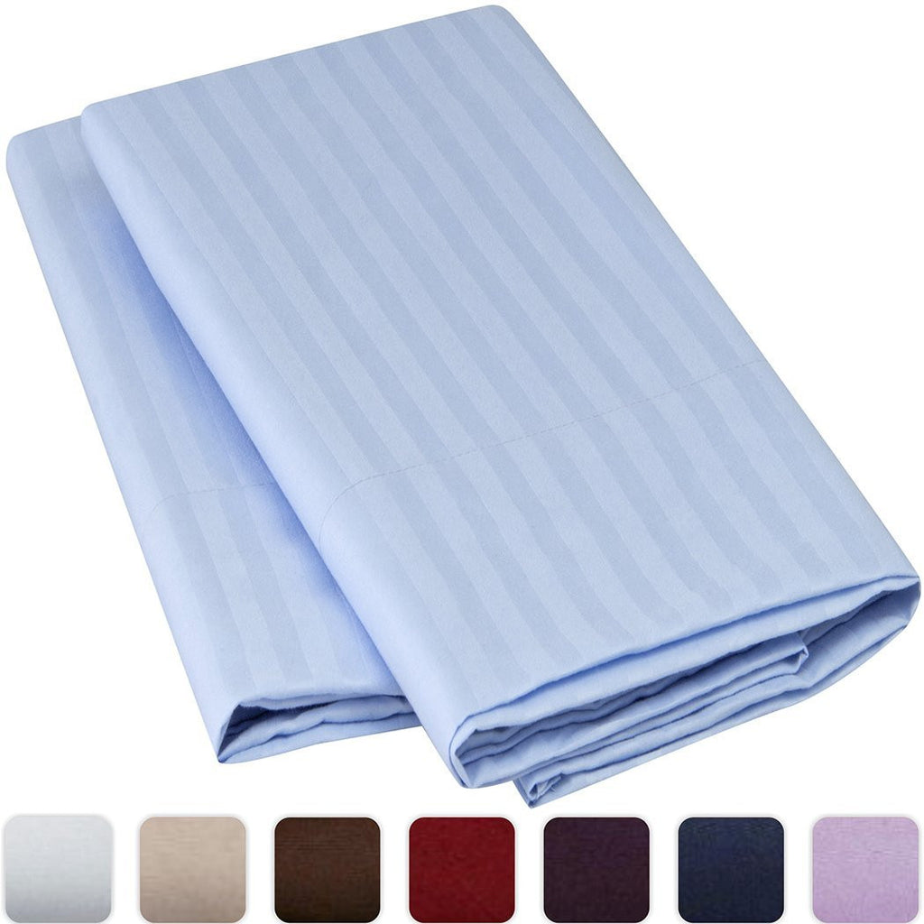 Striped Luxury Pillowcase Set