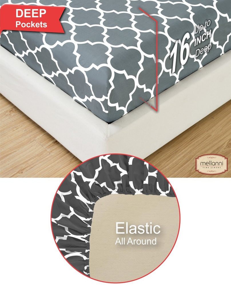 Quatrefoil Sheet Set