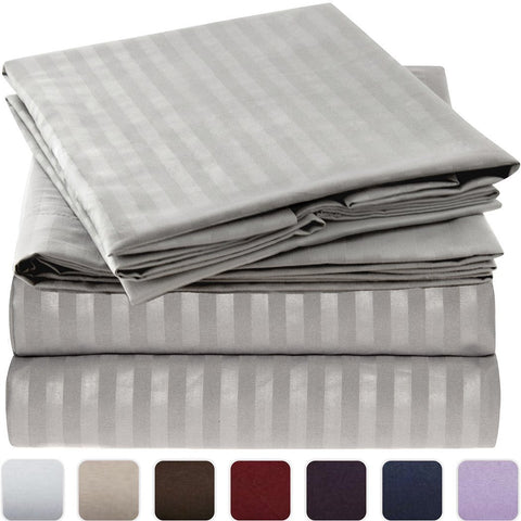 Striped Bed Sheet Set