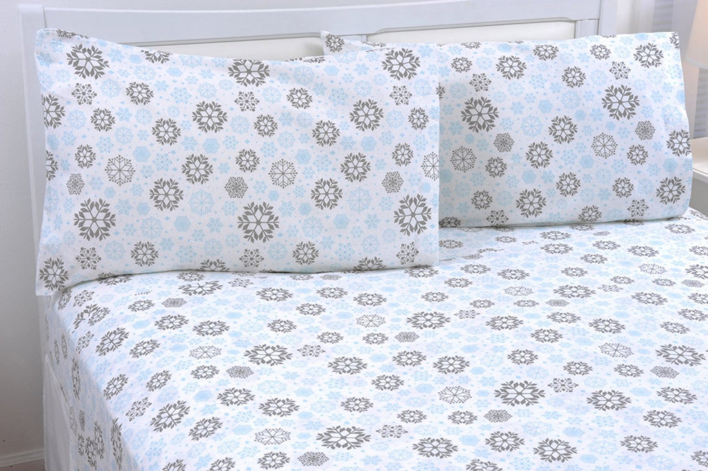 100% Cotton Flannel Pillowcase Set