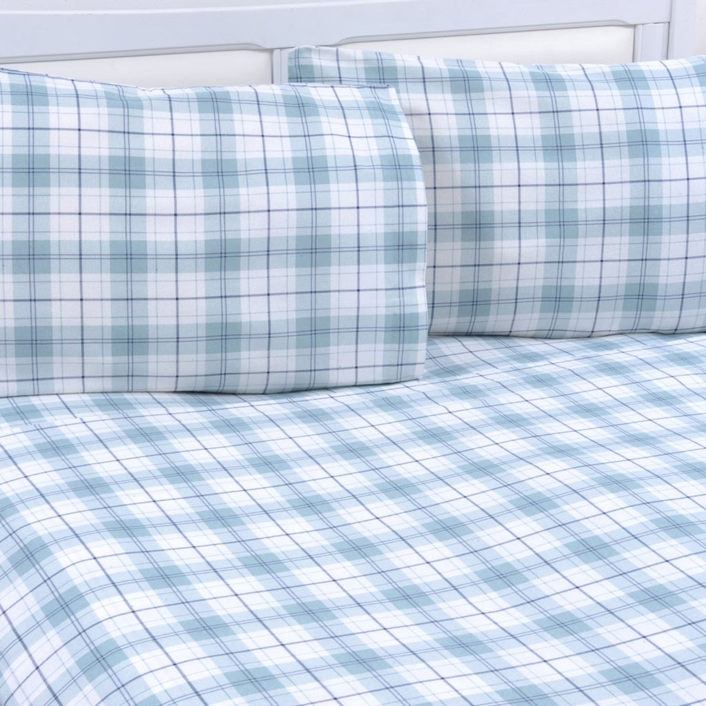 100% Cotton Flannel Fitted Sheet