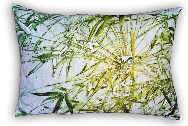 SooqCentral:Bamboo Green - Cushion