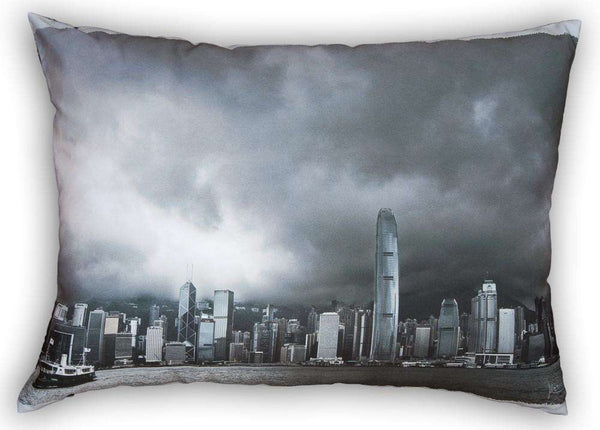 SooqCentral:Clouds in HK Harbour - Cushion
