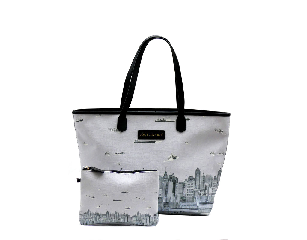 Louella Odié Skyline Canvas Tote