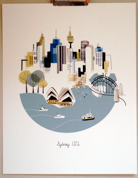 Sydney - An Artist's Illustration