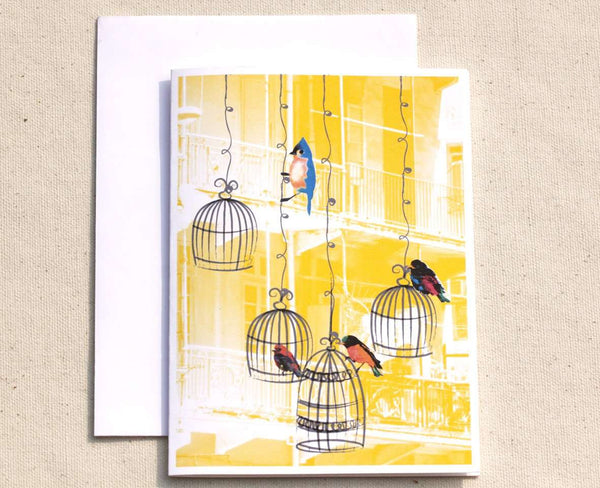 SooqCentral:6 Bird Cage Cards