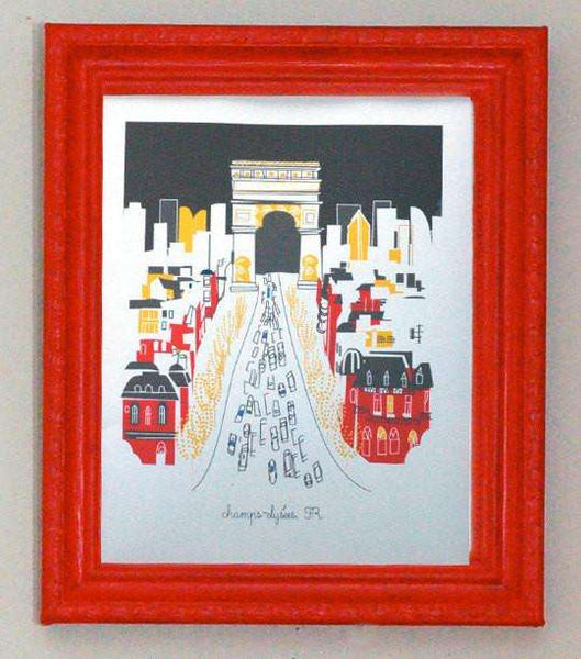 SooqCentral:CHAMPS ELYSEES Paris - An Artist's Illustration