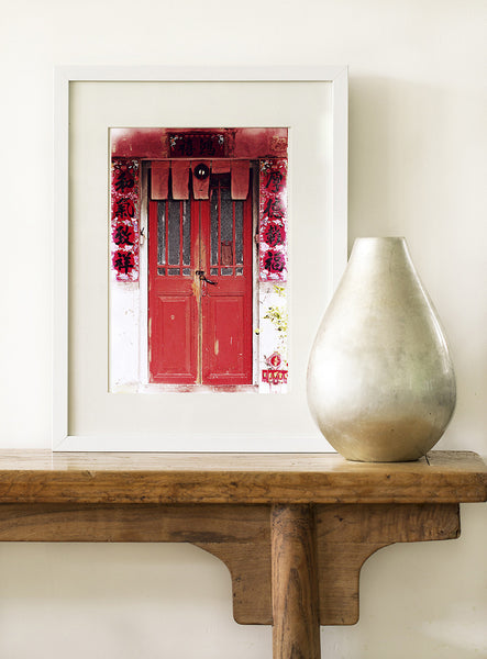 SooqCentral:Hong Kong Red Door Art print