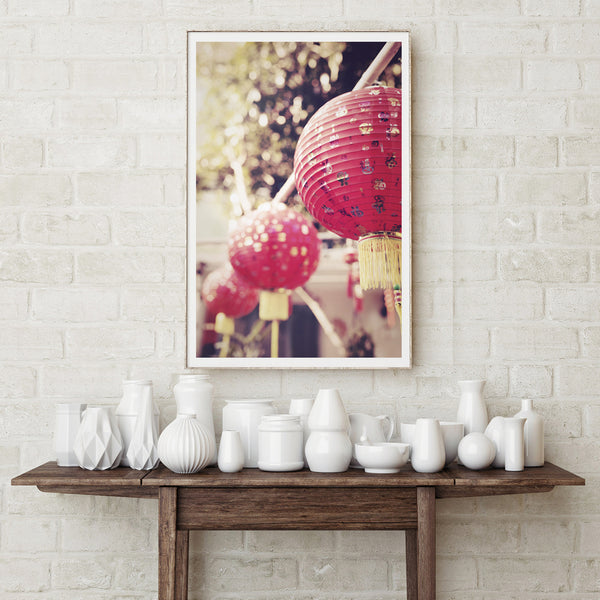 SooqCentral:Red Lanterns Print