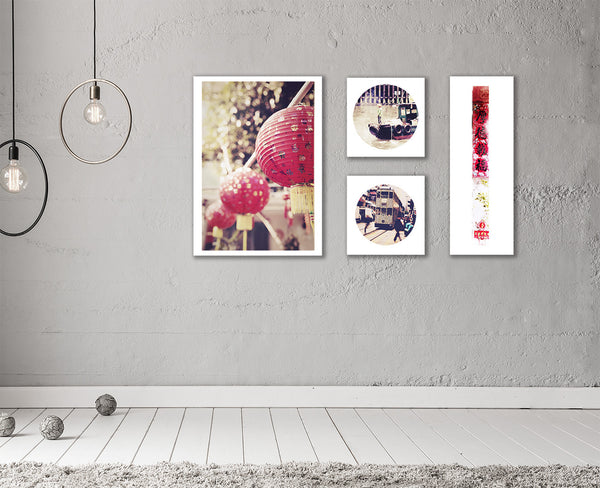 SooqCentral:Set of 4 Hong Kong themed prints