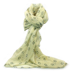 Horse Shoe Print Scarf