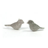 Silver Birds Earrings