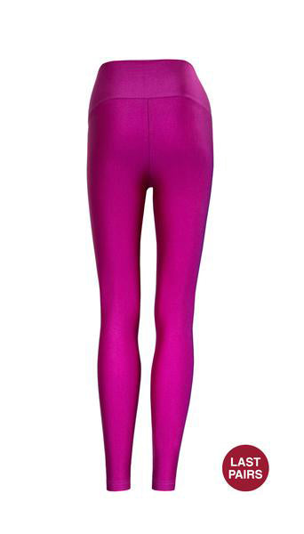 High Waist Purple Legging