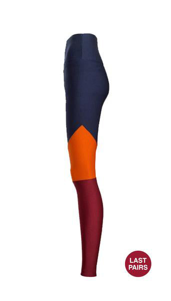 High Waisted Three Colors Legging