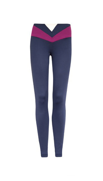 Neoprene Navy Legging