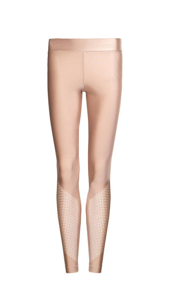 Nude Laser Cut Legging