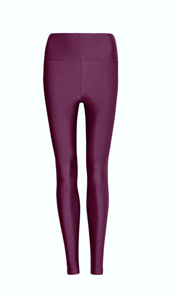 High Waisted Merlot Legging