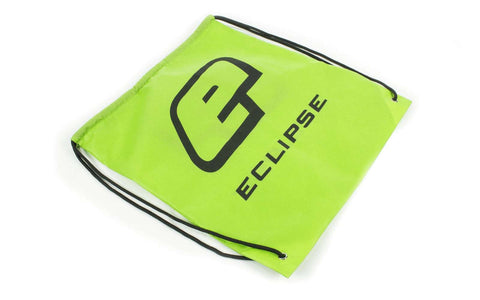 Eclipse Drawstring Bag Green/Black