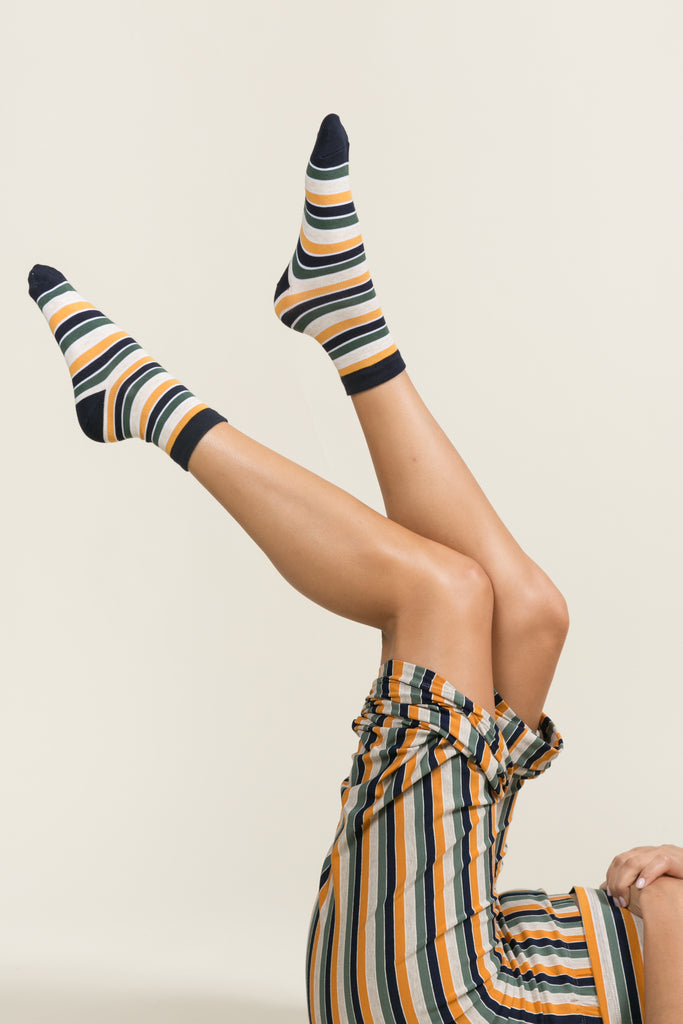 Harley Striped Socks