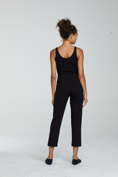Rio Crop Cigarette Pant - Black