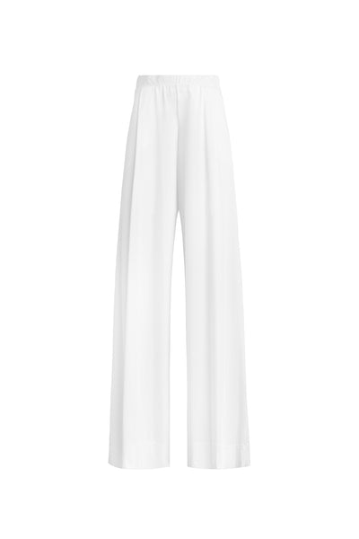 Dylan Baggy High Waist Pant - White