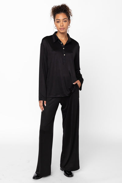 Fallon Pocket Pant - Black