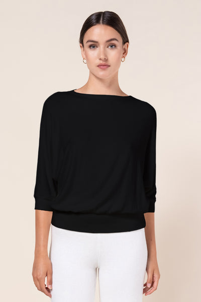 Lori Dolman Top - Black