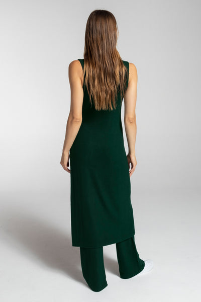 Lori Sleeveless Tunic - Forest