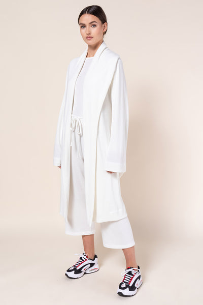 Willow Waffle Robe Set - White