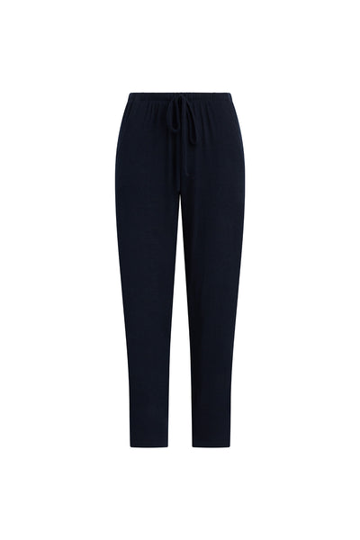 Lori Drawstring Pocket Pant - Navy