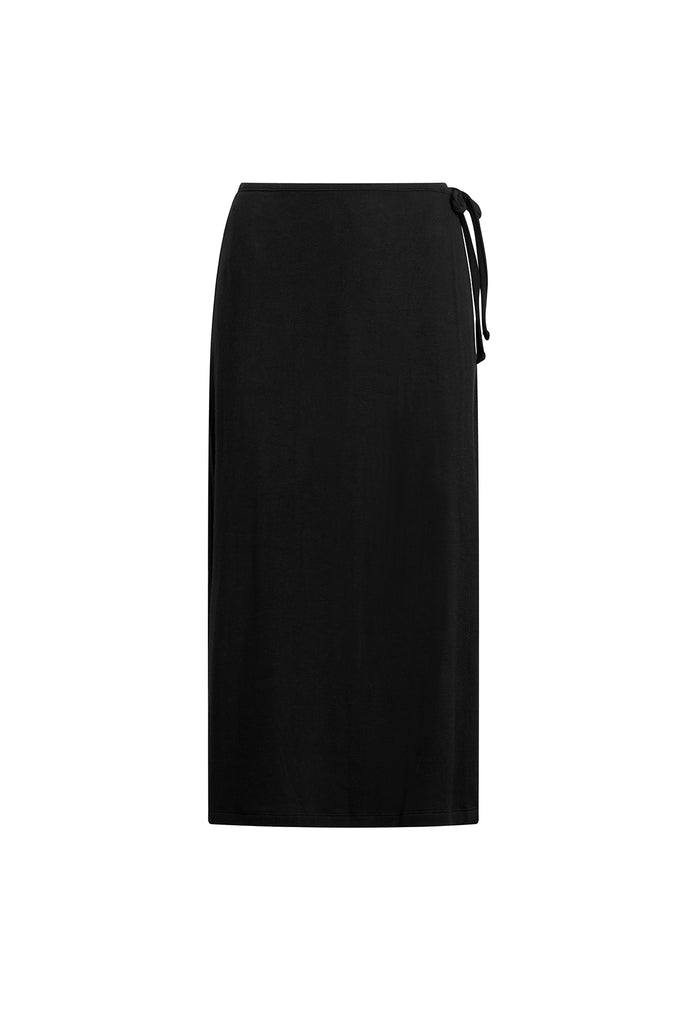 Lori Wrap Skirt - Black