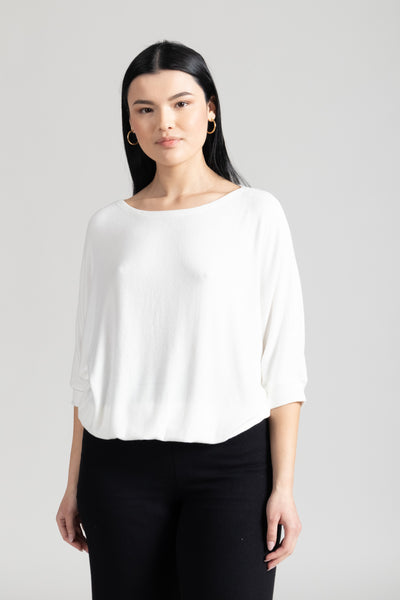 Lori Dolman Top - White