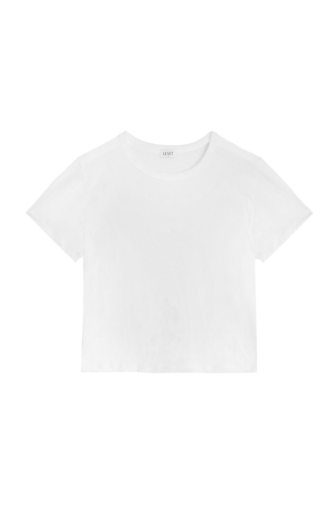 Lightweight Margo Tee - White