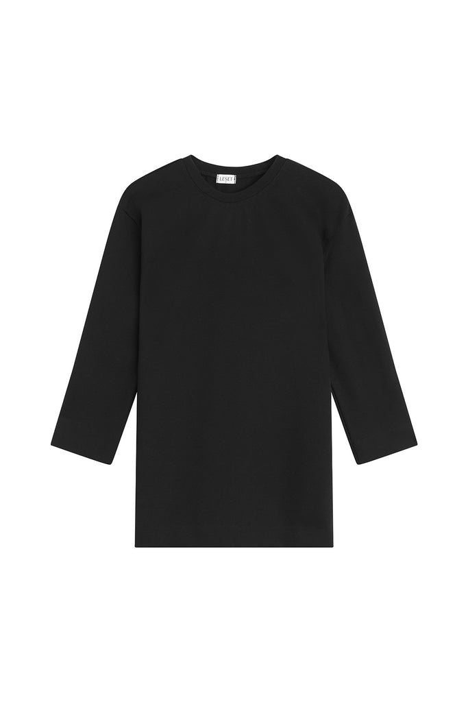 Rio Oversized Tunic - Black