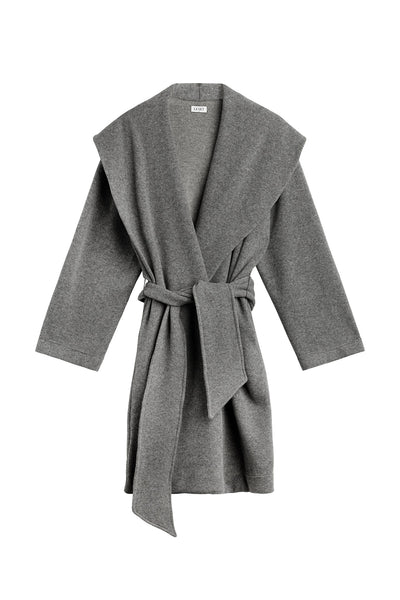 PRE-ORDER - Sienna Robe - Heather Grey