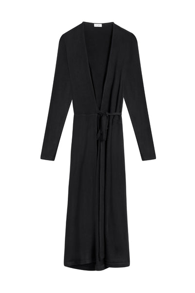 Lori Wrap Dress - Black