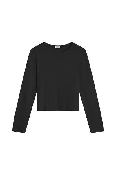 Lori Classic Long Sleeve - Black