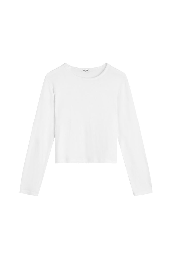 Lori Classic Long Sleeve - White