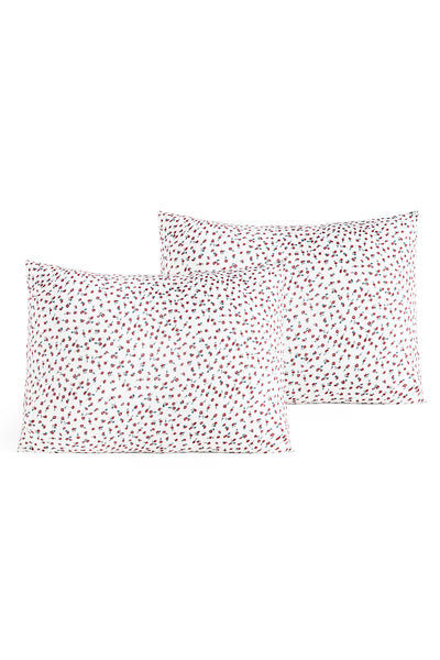 Nora Mini Rose Pillow Case Set - Standard