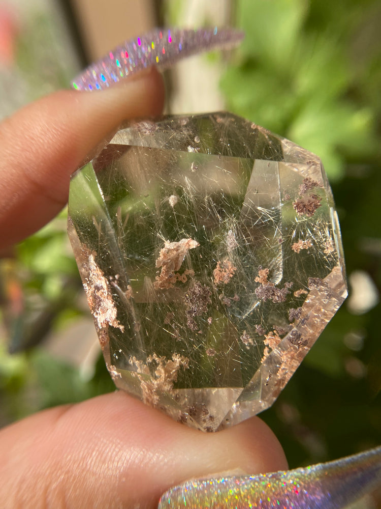 Load image into Gallery viewer, High Grade Freeform Rutilated Quartz with Lodalite