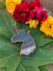 Stalactite Unicorn Slice Necklace