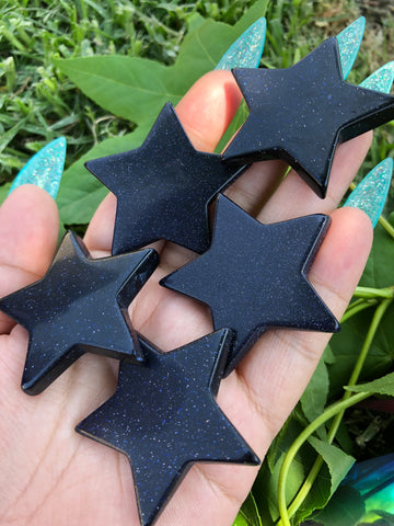 Blue Goldstone Star (1)