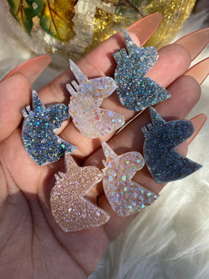 Mini Angel Aura Druzzy Unicorn (1)