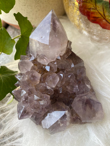 Cut Base Purple Spirit Quartz