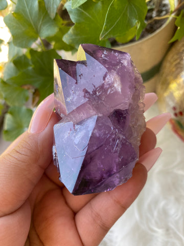 Dark Purple Spirit Quartz