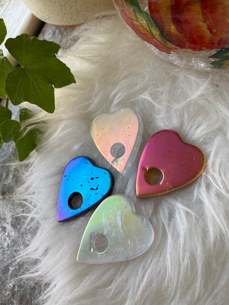 Load image into Gallery viewer, Aura Quartz Planchette (1)
