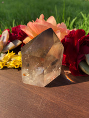 Smokey Included Quartz