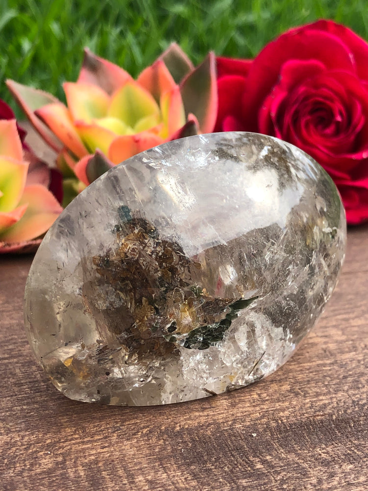 Tourmaline with Manifestation Included Quartz